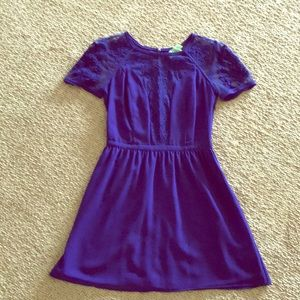 Kimchi Blue Dark Blue/Purple Dress
